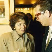 Dame Susan Tinson and Maurice Saatchi