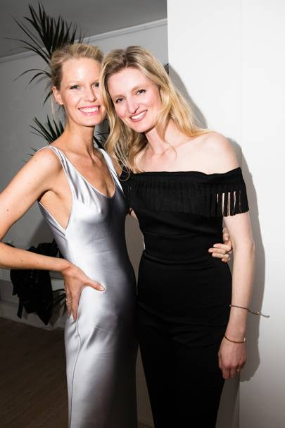 Caroline Winberg and Candice Lake
