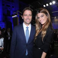 James Ferragamo and Bianca Brandolini d'Adda