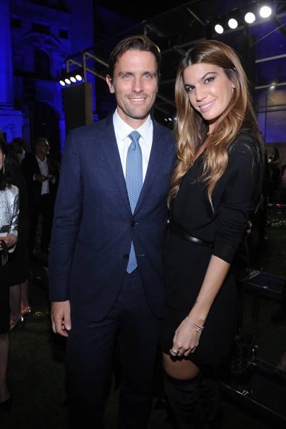 James Ferragamo and Bianca Brandolini d'Adda