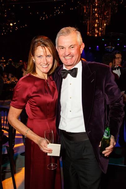 Annie Wainwright and Michael Wainwright