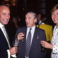 Nigel Hadden-Paton, Charlie Goodall and Mrs Nigel Hadden-Paton