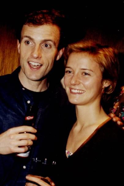 Dan Stevens and Candida Perceval