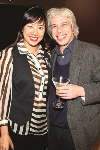 Cynthia Wu and Count Francesco da Mosta