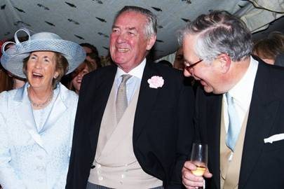Lady Vestey, Lord Vestey and David Bowes-Lyon
