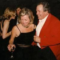 Mrs David Obank and James Holt