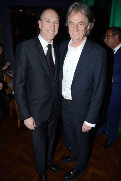 Dylan Jones and Sir Paul Smith