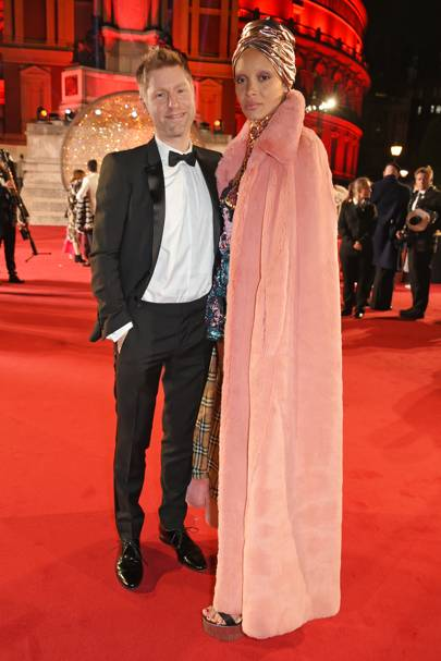 Christopher Bailey and Adwoa Aboah