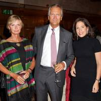 Pandora Delevingne, Charles Delevingne and Chiara Varese
