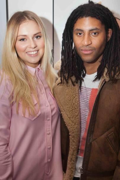 Sasha Keable and Cobbie Yates