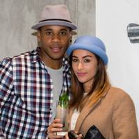 Reggie Yates and Tia Ward