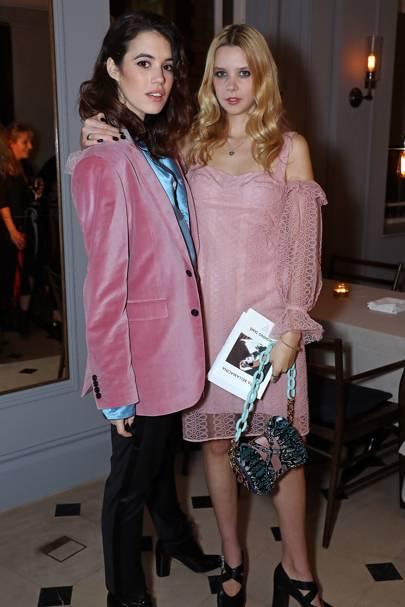 Gala Gordon and Greta Bellamacina