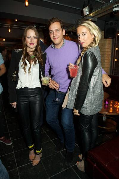 Rosie Fortescue, George Jessel and Clarissa Walsh