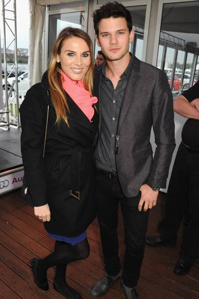 Tonya Meli and Jeremy Irvine
