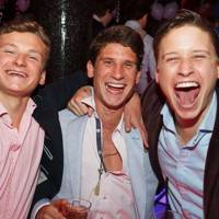 Jack Blackmore, Ollie Blackmore and Toby Blackmore