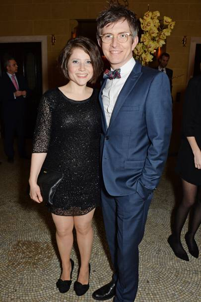 Becky Malone and Gareth Malone