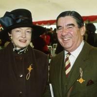 Mrs Peter Fenwick and Peter Fenwick