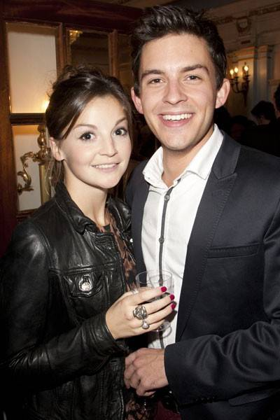 Flora Spencer-Longhurst and Jonathan Bailey