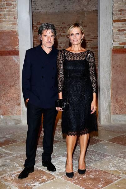 Renato De Maria and Isabella Ferrari