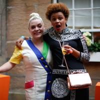 Rachel Tyson and Gemma Cairney