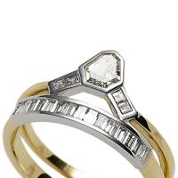 Gold, white-gold & diamond ring, £10,000, Jessica McCormack