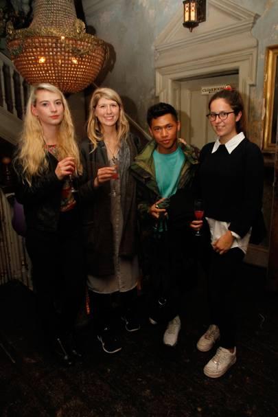Daisy Azis, Kat Olivier-Argyle, Armand Cordero and Chloe Taylor