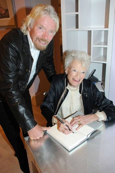 Sir Richard Branson and Eve Branson