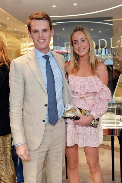 David Tollemache and Jemima Cadbury