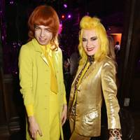 Josh Quinton and Pam Hogg