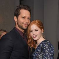 Derek Blasberg and Ellie Bamber