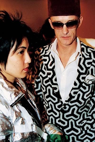 Mrs Andy Wong and Count Gottfried von Bismarck