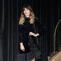 Lou Doillon at the Gucci show.