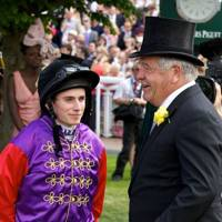 Ryan Moore and Sir Michael Stoute