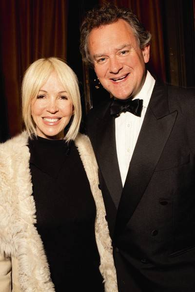 Sally Greene and Hugh Bonneville