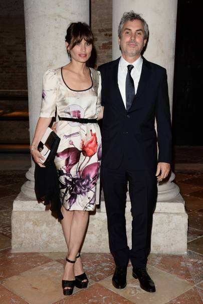Sheherazade Goldsmith and Alfonso Cuaron