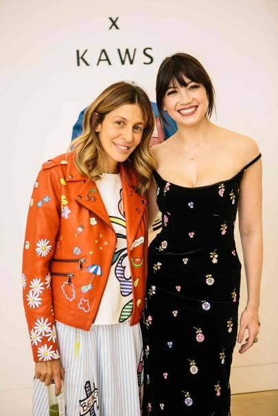 Mira Mikati and Daisy Lowe