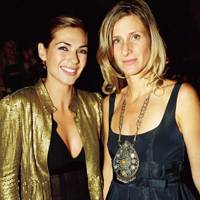 Natalie Goldstein and Mrs Nabil Fattal