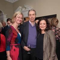 Gill Pennington, Boyd Tonkin and Cristina Fuentes La Roche