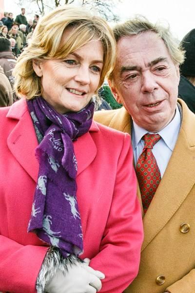 Lady Lloyd Webber and Lord Lloyd Webber