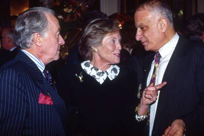 Naim Attallah, Lady Newall and Lord Newall