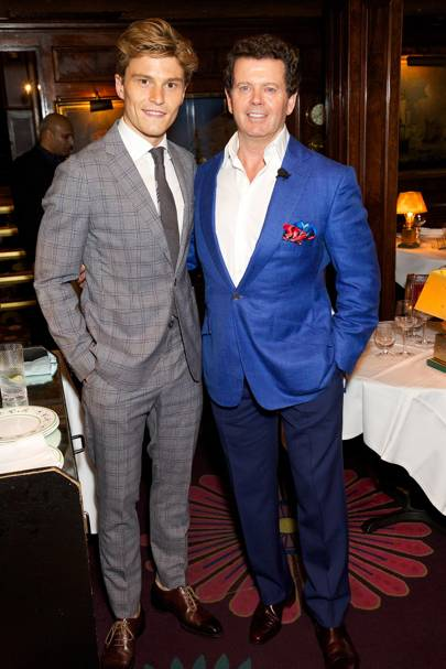 Oliver Cheshire and Gerry McGovern