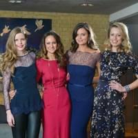 Katie Readman, Lavinia Brennan, Lady Natasha Rufus Isaacs and Federica Amati
