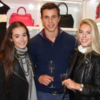 Olivia Callaghan, James Middleton and Gina Kuschke