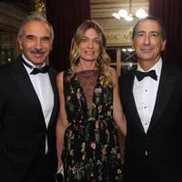 Carlo Capasa, Chiara Bazzoli and Giuseppe Sala