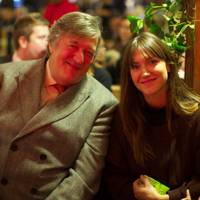 Stephen Fry and Mary Clare Elliot