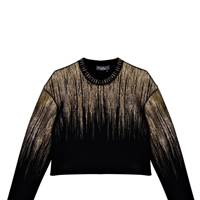 Lurex top, £3,585, by Salvatore Ferragamo