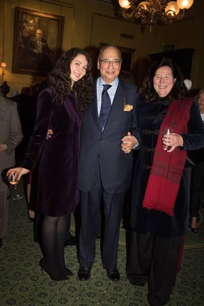 Victoria de Silva, Sir Desmond de Silva and Princess Katarina of Yugoslavia