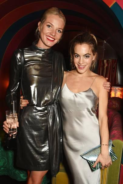 Georgiana Huddart and Chelsea Leyland