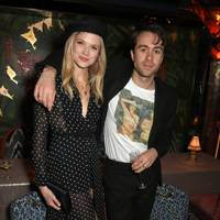 Gabriella Wilde and Justin Young