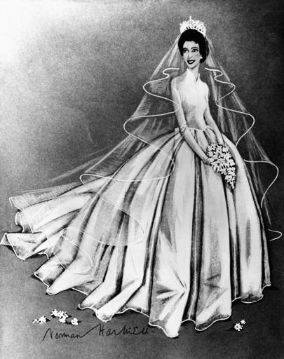 Why Princess Margaret S Wedding Dress Continues To Inspire Royal